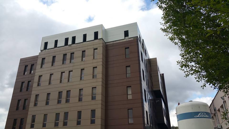 extindere etaj inaltime 25 m spital privat arcadia iasi 5