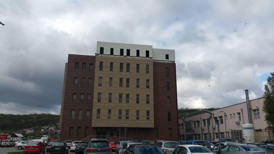 extindere etaj inaltime 25 m spital privat arcadia iasi 6