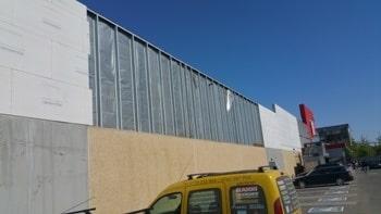 Reorganizari fatade Kaufland Satu Mare – Lamele Planche si Aquapanel (4)