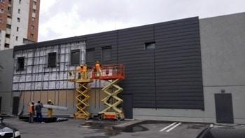 Reorganizari fatade Kaufland Bacau – Lamele Planche si Aquapanel (6)