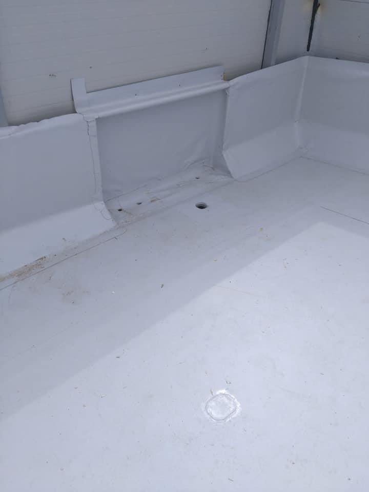 Montaj osb peste panouri sw și execuție hidroizolație cu membrana PVC 1.5 COSMOFIN GGPLUS ICOPAL 1900 mp – Galerie comerciala CATEX Calarasi 19