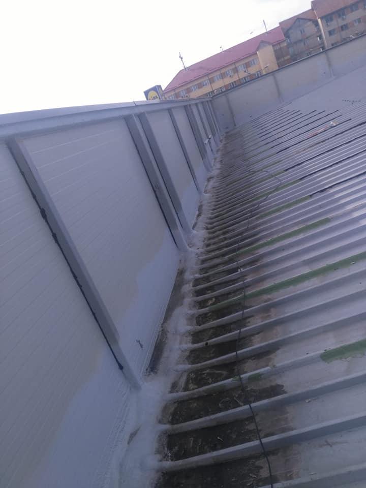 Montaj osb peste panouri sw și execuție hidroizolație cu membrana PVC 1.5 COSMOFIN GGPLUS ICOPAL 1900 mp – Galerie comerciala CATEX Calarasi 2