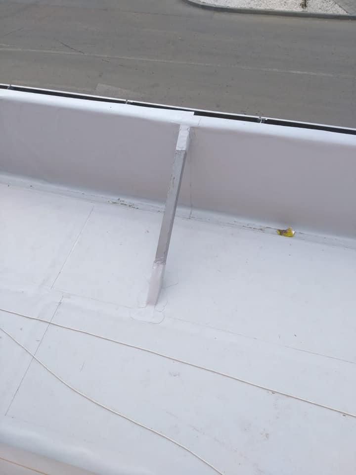 Montaj osb peste panouri sw și execuție hidroizolație cu membrana PVC 1.5 COSMOFIN GGPLUS ICOPAL 1900 mp – Galerie comerciala CATEX Calarasi 22