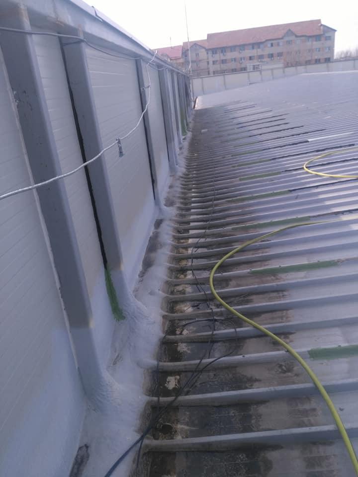Montaj osb peste panouri sw și execuție hidroizolație cu membrana PVC 1.5 COSMOFIN GGPLUS ICOPAL 1900 mp – Galerie comerciala CATEX Calarasi 3