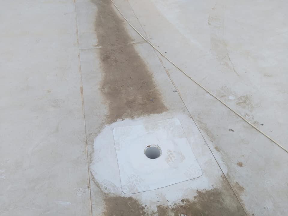 Tabla cutata, termosistem vata minerala si hidroizolatie membrana PVC Sikaplan 15 G- 1900 mp – Supeco Slobozia (15)