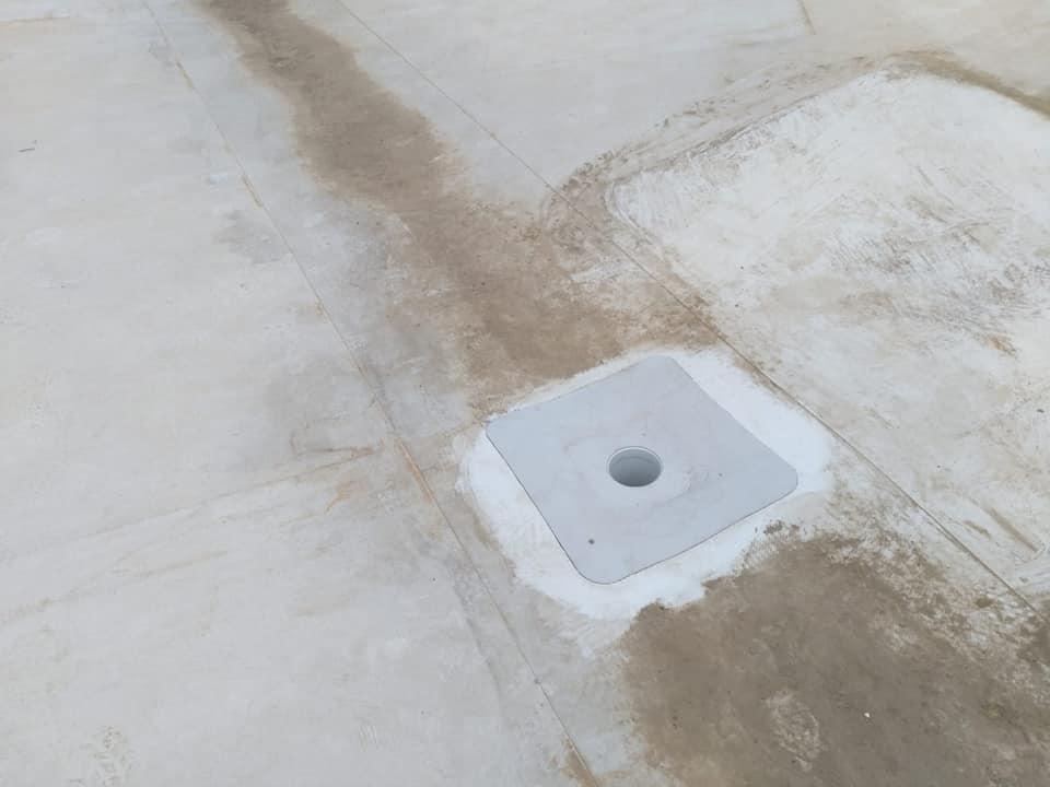 Tabla cutata, termosistem vata minerala si hidroizolatie membrana PVC Sikaplan 15 G- 1900 mp – Supeco Slobozia (4)