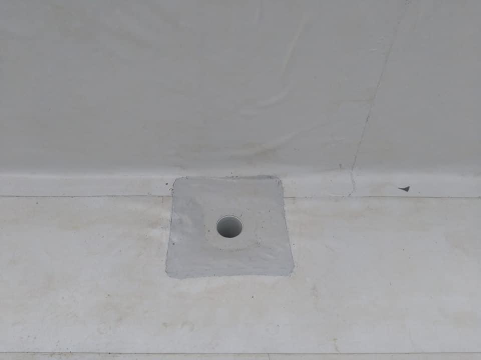 Tabla cutata, termosistem vata minerala si hidroizolatie membrana PVC Sikaplan 15 G- 1900 mp – Supeco Slobozia (6)