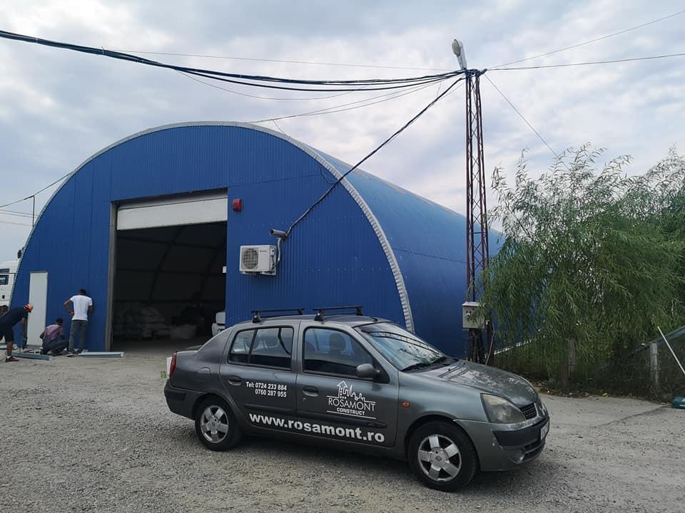 Termoizolație și hidroizolație cu membrana PVC 1700 mp – Hala depozitare Tisita Moldova Farming 1