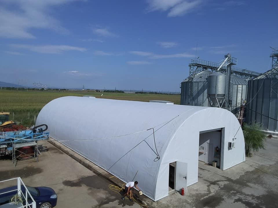 Termoizolație și hidroizolație cu membrana PVC 1700 mp – Hala depozitare Tisita Moldova Farming 10
