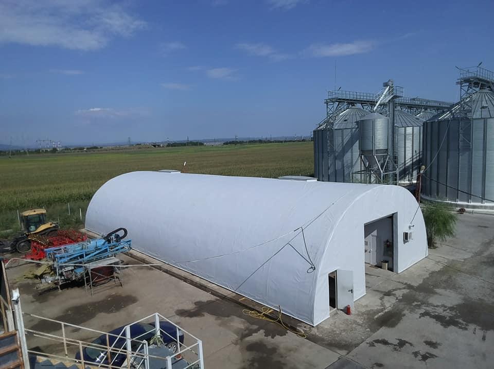 Termoizolație și hidroizolație cu membrana PVC 1700 mp – Hala depozitare Tisita Moldova Farming 12