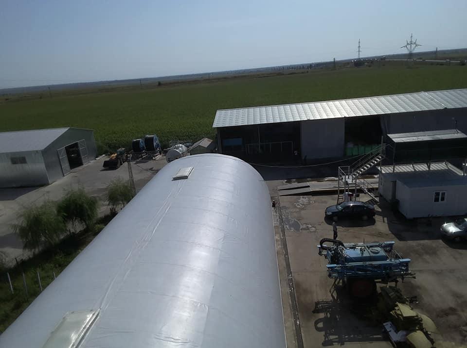 Termoizolație și hidroizolație cu membrana PVC 1700 mp – Hala depozitare Tisita Moldova Farming 13
