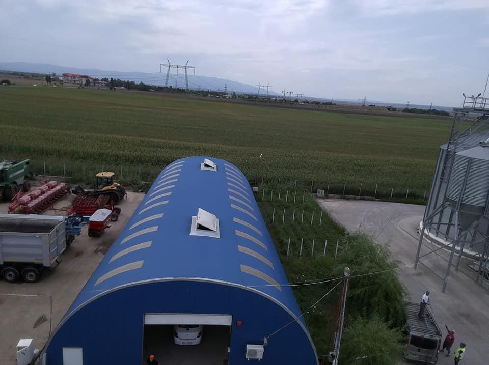 Termoizolație și hidroizolație cu membrana PVC 1700 mp – Hala depozitare Tisita Moldova Farming 3