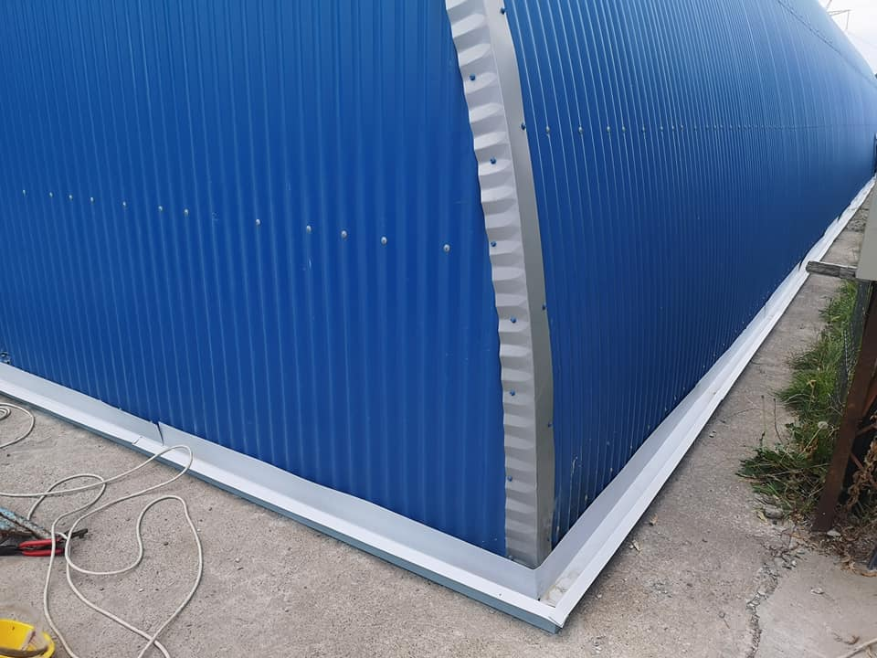 Termoizolație și hidroizolație cu membrana PVC 1700 mp – Hala depozitare Tisita Moldova Farming 4