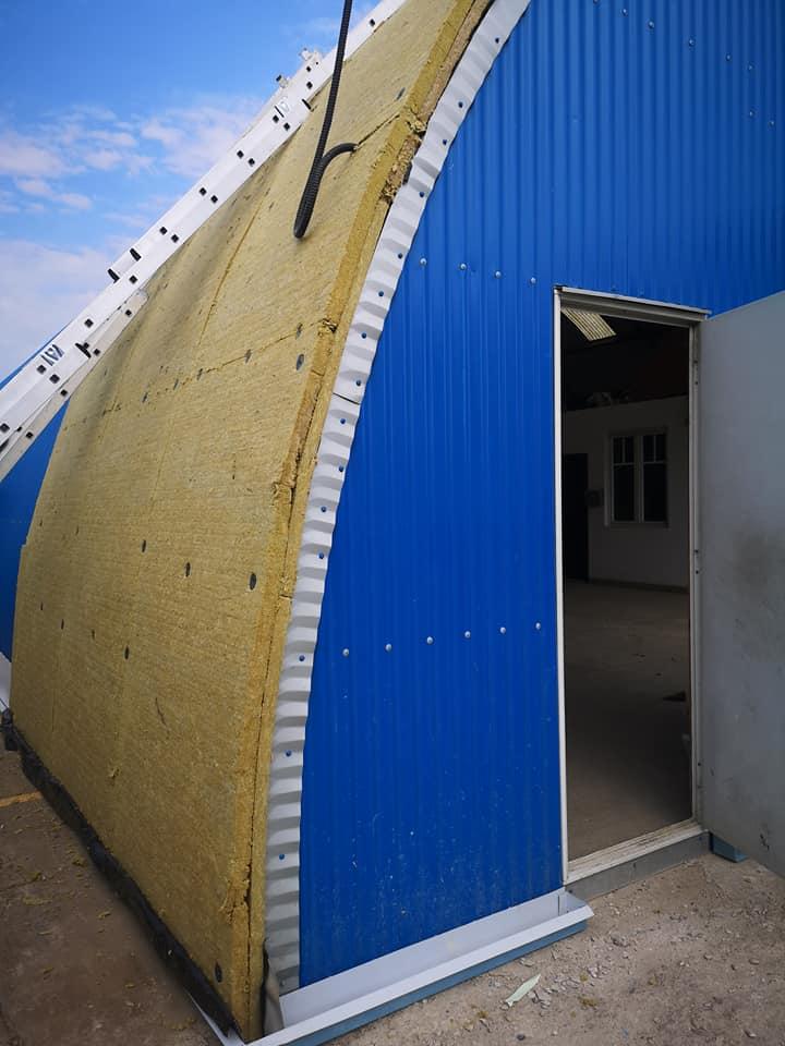 Termoizolație și hidroizolație cu membrana PVC 1700 mp – Hala depozitare Tisita Moldova Farming 6