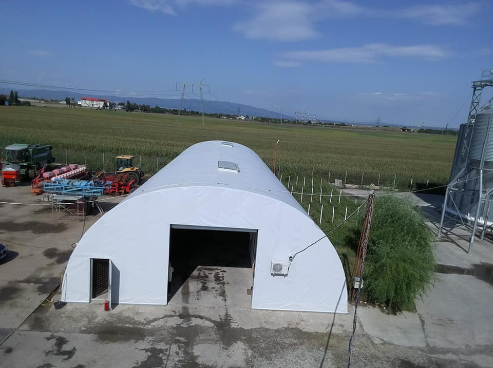 Termoizolație și hidroizolație cu membrana PVC 1700 mp – Hala depozitare Tisita Moldova Farming 8