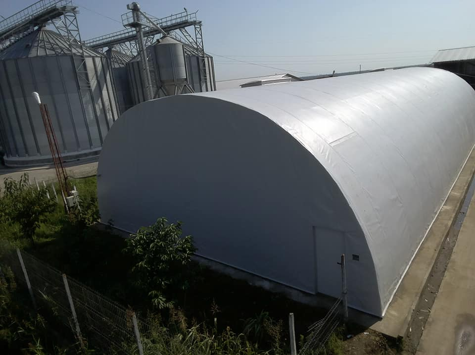 Termoizolație și hidroizolație cu membrana PVC 1700 mp – Hala depozitare Tisita Moldova Farming 9
