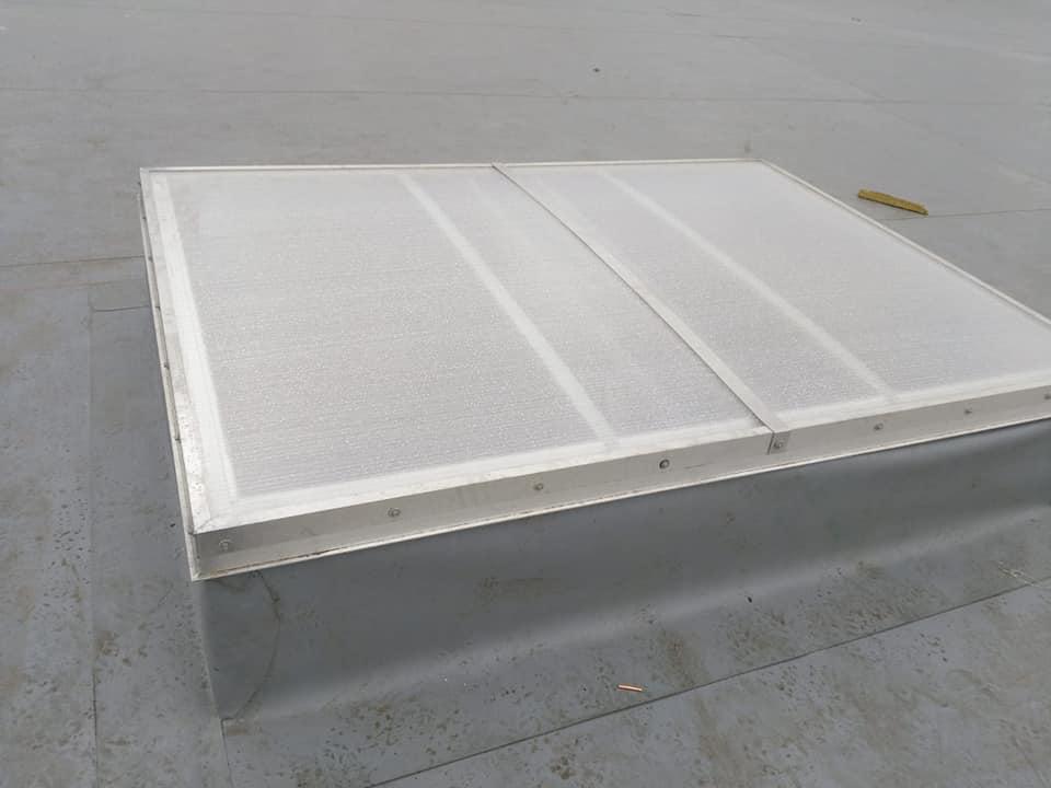 Trape de fum Icopal Awak 1400 x 2000 mm – 41 buc și execuție traseu de cupru ICCO Rovinari 5