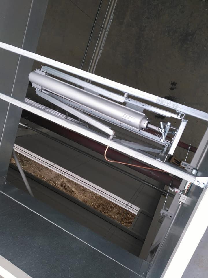 Trape de fum Icopal Awak 1400 x 2000 mm – 41 buc și execuție traseu de cupru ICCO Rovinari 7