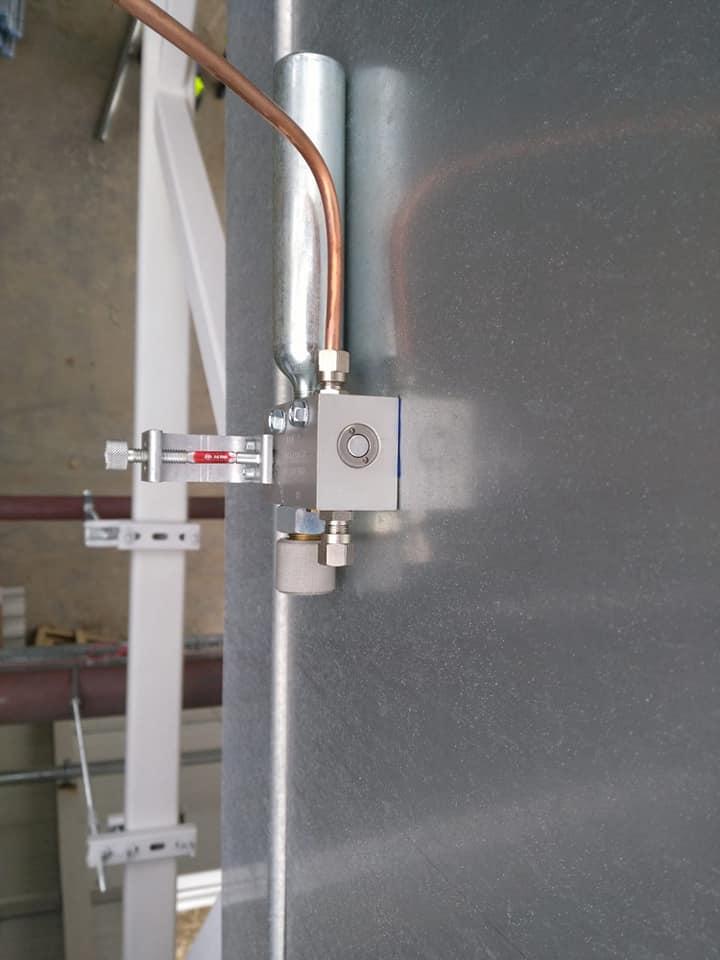 Trape de fum Icopal Awak 1400 x 2000 mm – 41 buc și execuție traseu de cupru ICCO Rovinari 8